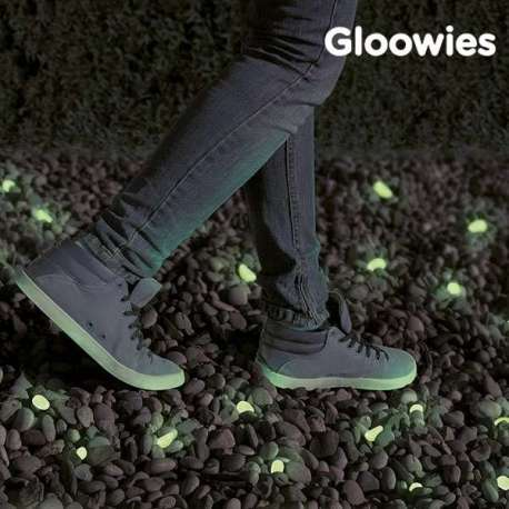 Galets fluorescents gloowies lumineux pierres cailloux