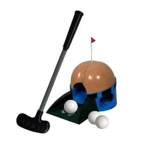 Jeu de mini golf sonore avec trou en forme de fesses