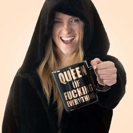 Mug XXL queen of fucking everything Tasse géante 850 ml