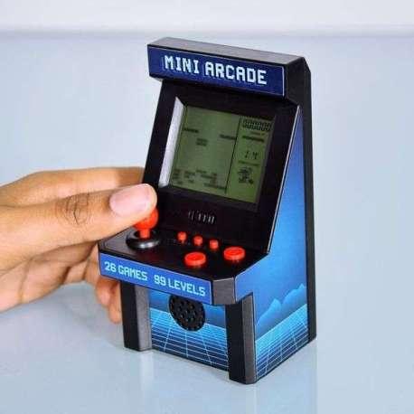 Borne d'arcade miniature 26 Jeux vidéos - 99 niveaux