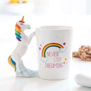 Mug Licorne Arc-en-Ciel Tasse originale