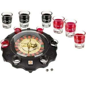 Roulette électronique jeu à boire avec 6 verres