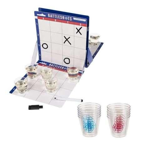 Jeu à boire bataille navale avec 10 verres à shot