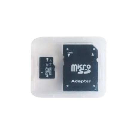 Micro carte SD mémoire de 16Go avec adaptateur