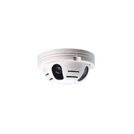 Détecteur de fumée caméra de surveillance directe sur télévision