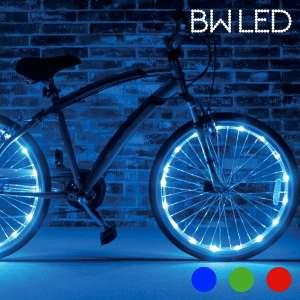 2 tubes LED pour vélo bicyclette lumineux