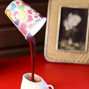 Lampe café renversé coulant LED