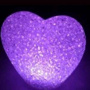 Cœur lumineux LED Petite lampe