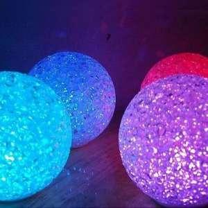 Boule lumineuse LED petite lampe