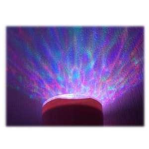 Lampe haut-parleur et diffuseur d'aurores polaires