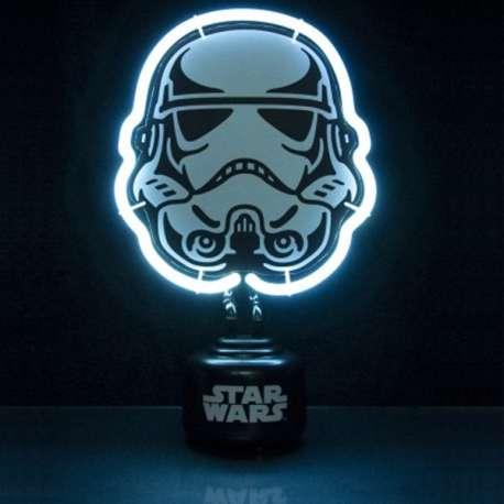 Lampe Néon Stormtrooper Saga Star Wars