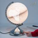 Lampe planète terre tactile globe terrestre planisphere lumineux