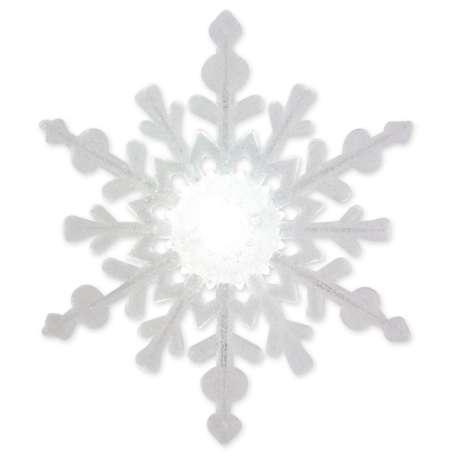 Flocon de neige à LED, multicoulor lumineux