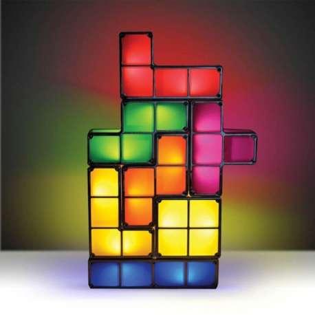Lampe Tetris à empiler veilleuse blocs tetris lumineux