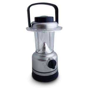Lampe camping intensité lumière ajustable 12 LED avec boussole