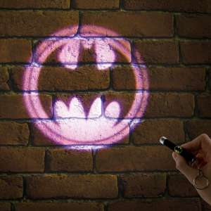 Lampe torche à projection logo Batman