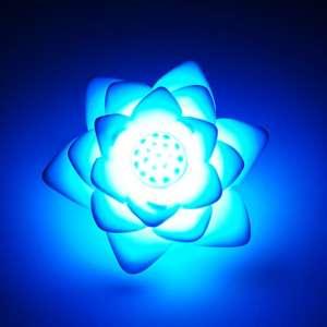 Mini lampe lotus LED 7 couleurs veilleuse