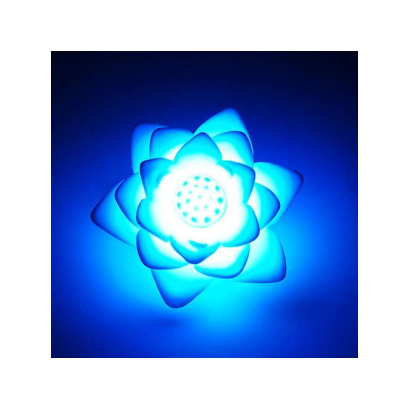 mini lampe lotus led 7 couleurs veilleuse totalcadeau. Black Bedroom Furniture Sets. Home Design Ideas