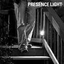 Lampe d'appoint à piles projecteur avec détecteur de mouvement