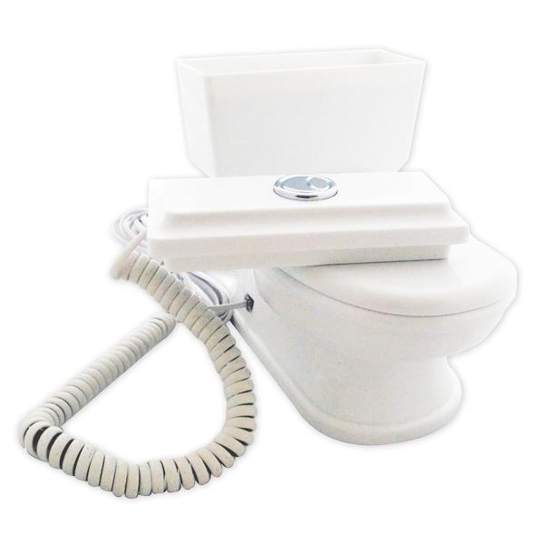 t l phone filaire fixe wc toilettes d lirant. Black Bedroom Furniture Sets. Home Design Ideas