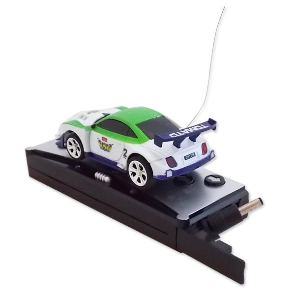 mini voiture t l command e rangement canette radiocmmand rc bleu ebay. Black Bedroom Furniture Sets. Home Design Ideas