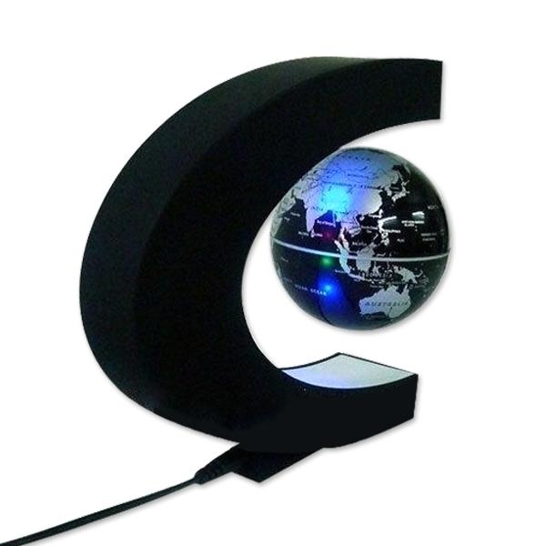 globe terrestre led levitation magique lumineux flottant magn tique ebay. Black Bedroom Furniture Sets. Home Design Ideas
