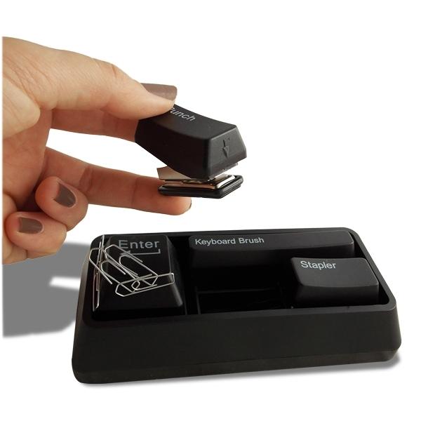 kit accessoires bureau clavier brossette perforatrice. Black Bedroom Furniture Sets. Home Design Ideas